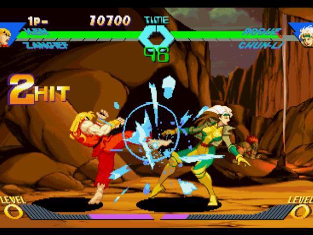 X-Men vs. Street Fighter screenshot