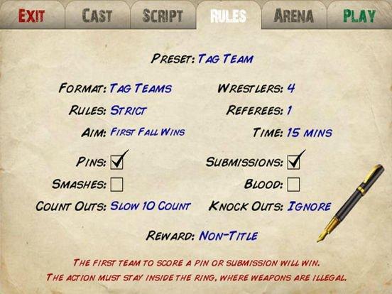 Wrestling Revolution 3D (Pro) screenshot
