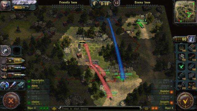 Find & Destroy: Tank Strategy screenshot
