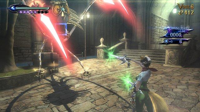 Bayonetta 2 with bonus Bayonetta disc screenshot