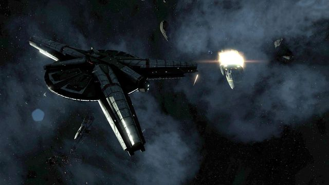Battlestar Galactica Deadlock screenshot