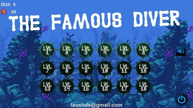 The famous diver screenshot