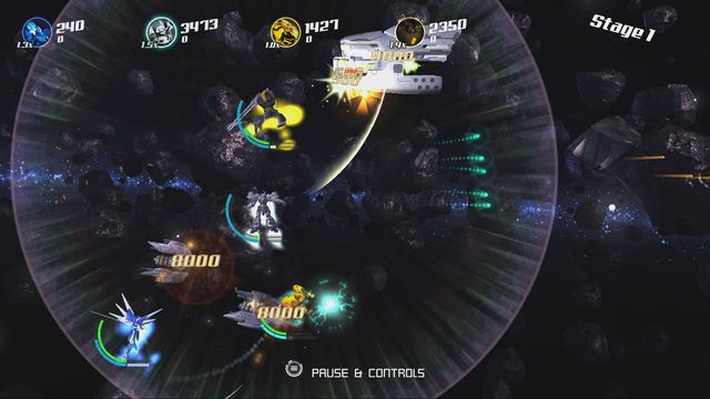 Stardust Galaxy Warriors: Stellar Climax screenshot