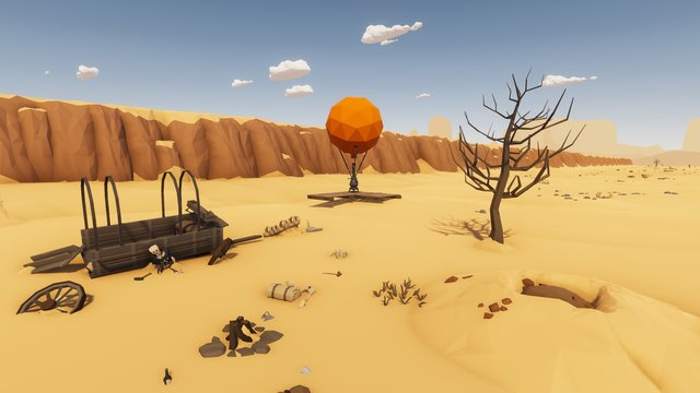 Desert Skies screenshot