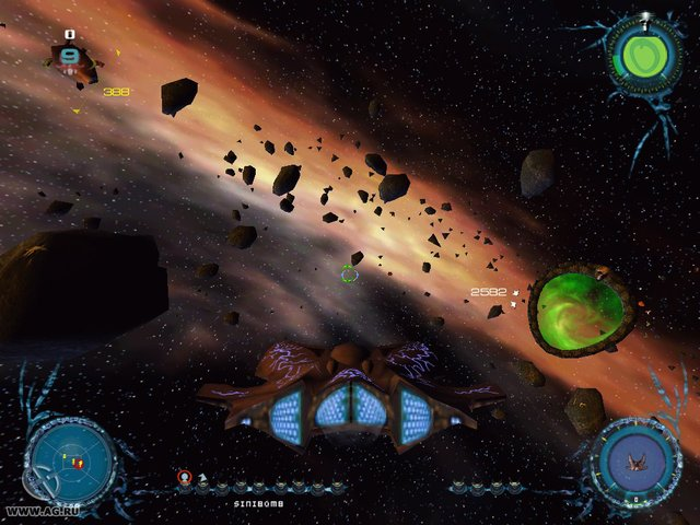 Sinistar Unleashed screenshot