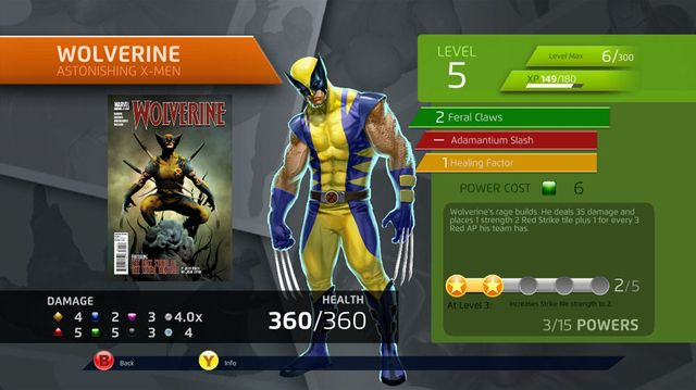 Marvel Puzzle Quest screenshot