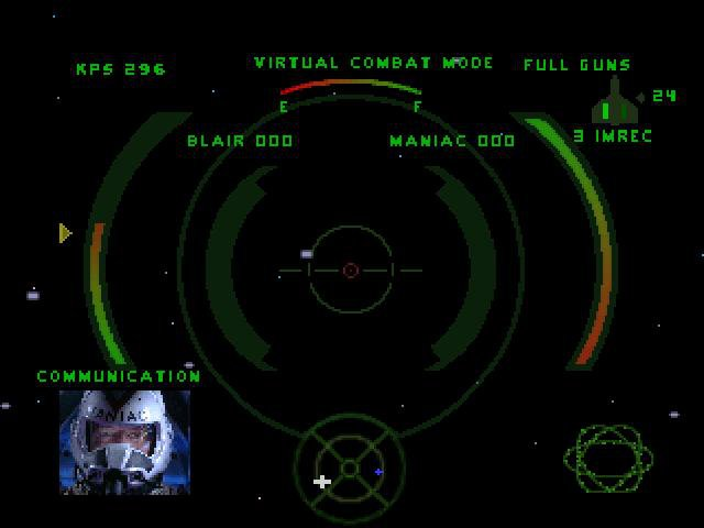 Wing Commander 4: The Price of Freedom screenshot