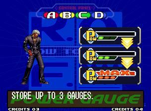 The King of Fighters 2000 (2000) screenshot