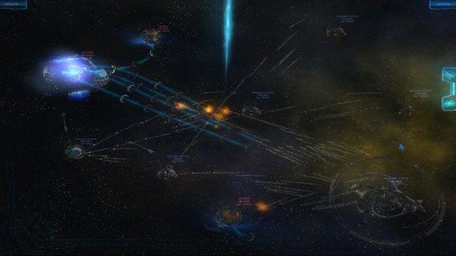 SPACE BATTLE: Humanity screenshot