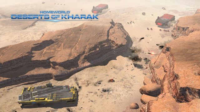 Homeworld: Deserts of Kharak screenshot