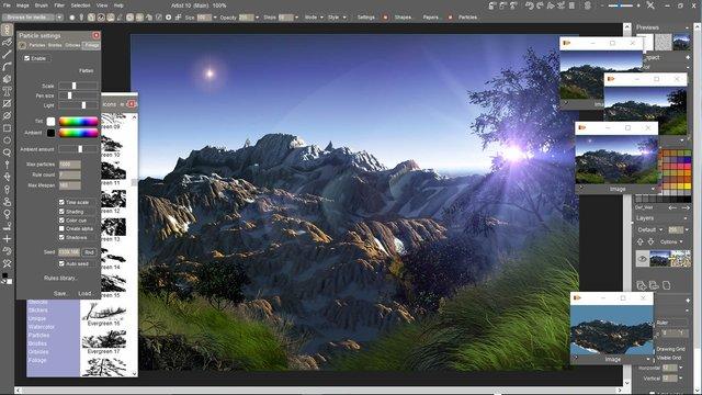PD Artist 10 screenshot