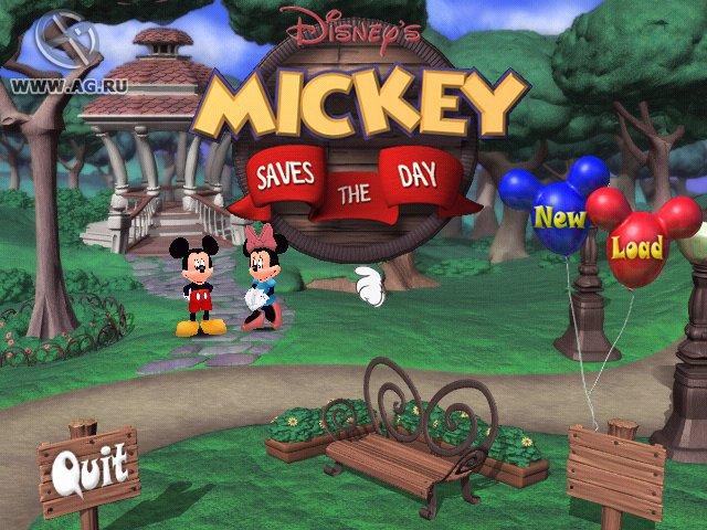 Disney's Mickey Saves the Day screenshot