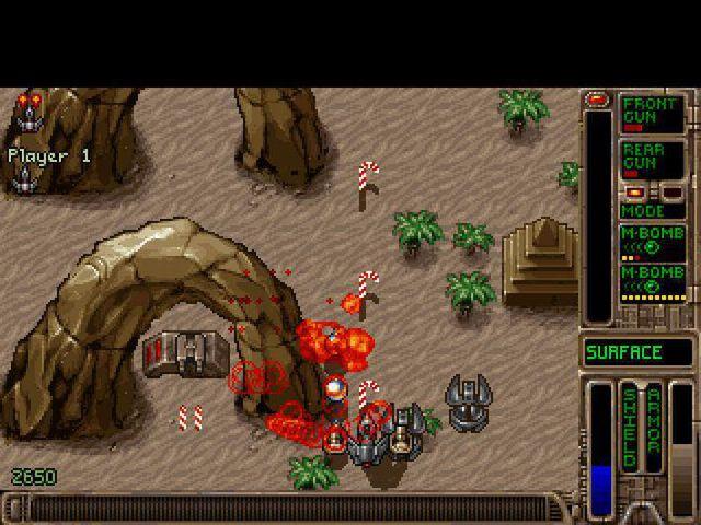 Tyrian 2000 screenshot