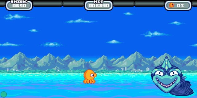 Octonaut - 星のタコ screenshot