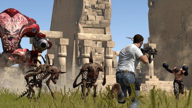Serious Sam 3: Jewel of the Nile screenshot