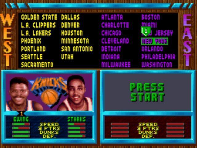 NBA Jam (1994) screenshot