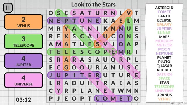 Word Search by POWGI screenshot