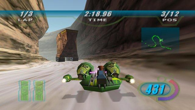 STAR WARS Episode I Racer screenshot