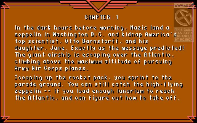 Rocket Ranger screenshot