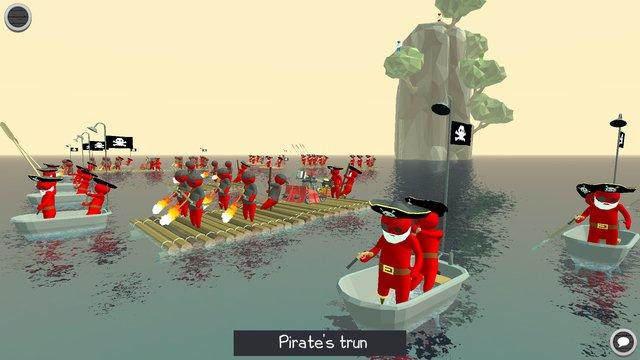 Stupid Raft Battle Simulator screenshot