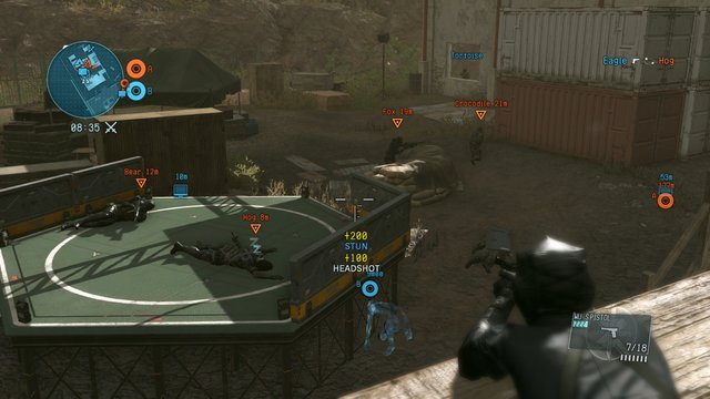 Metal Gear Solid V: Metal Gear Online screenshot
