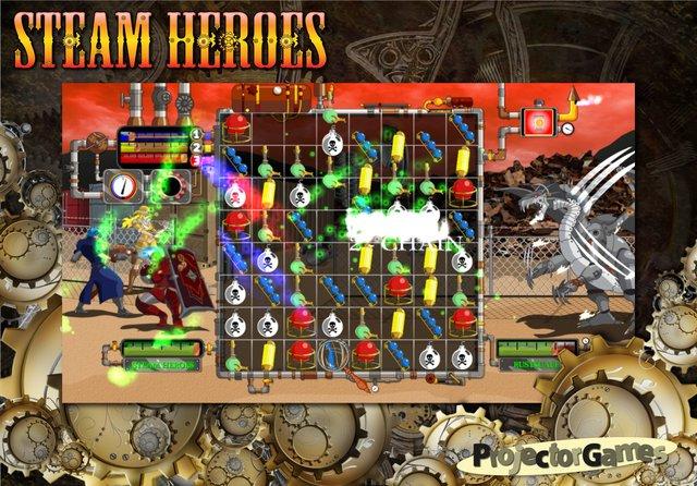 Steam Heroes screenshot