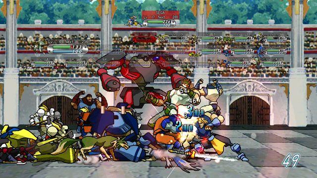 GUARDIAN HEROES (TM) screenshot