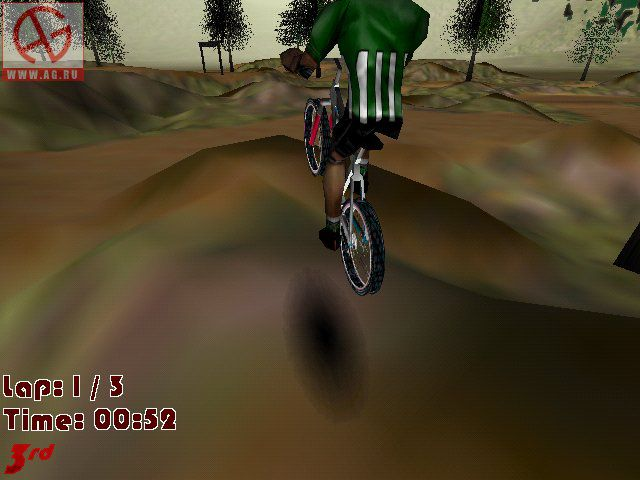 Extreme Mountain Biking screenshot
