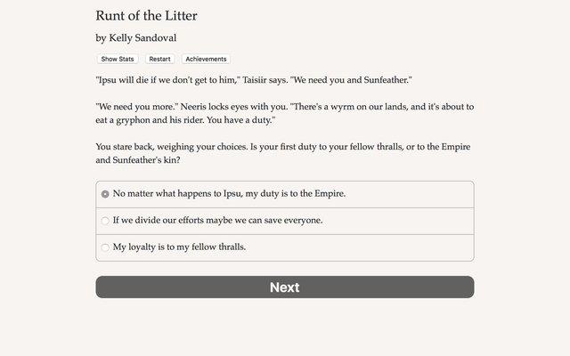 Runt of the Litter screenshot