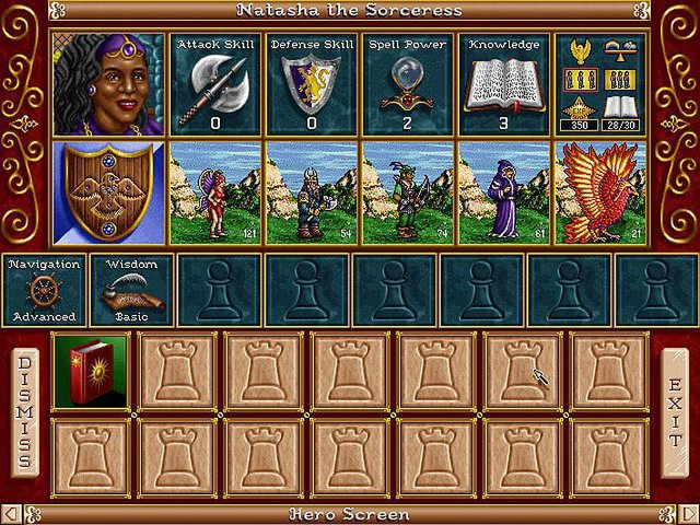 Heroes of Might and Magic 2: The Succession Wars screenshot