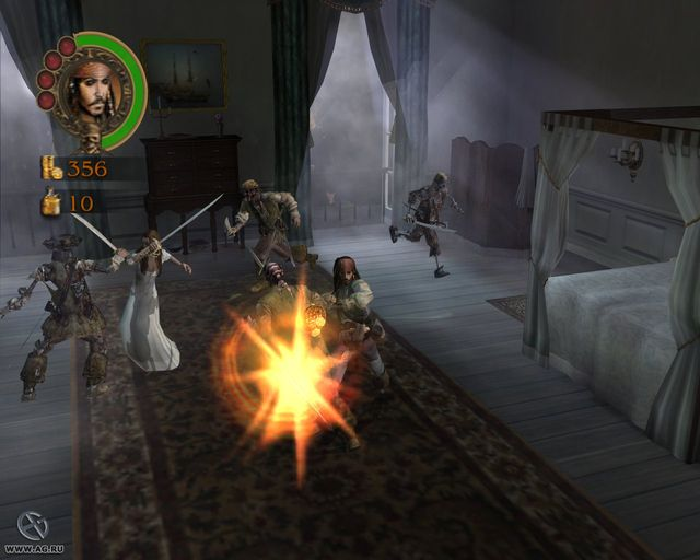 Pirates of the Caribbean: The Legend of Jack Sparrow screenshot