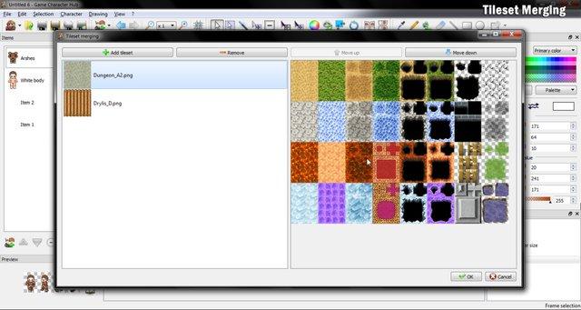Game Character Hub screenshot