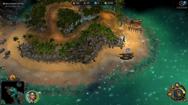 Меч и магия: Герои 6 - Пираты Дикого моря screenshot