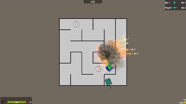 Panzer Warfare screenshot