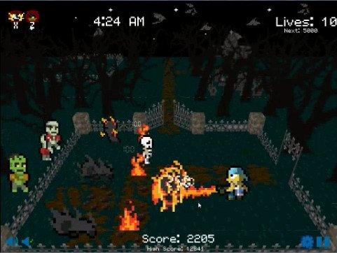 Graveyard Smash screenshot