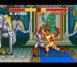 Street Fighter II Turbo: Hyper Fighting screenshot