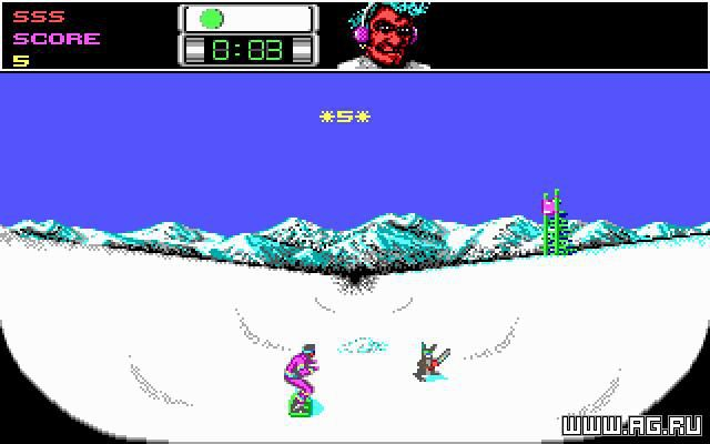 Ski or Die! screenshot