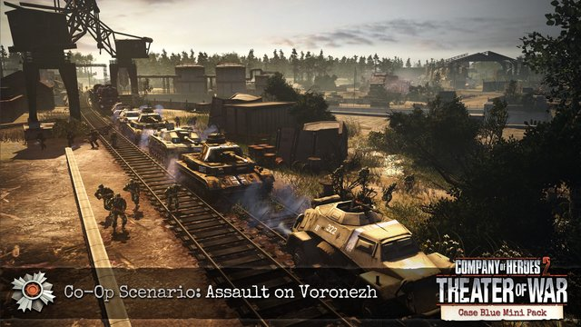 Company of Heroes 2: Case Blue Mission Pack screenshot