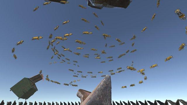P-Walker's Simulation screenshot