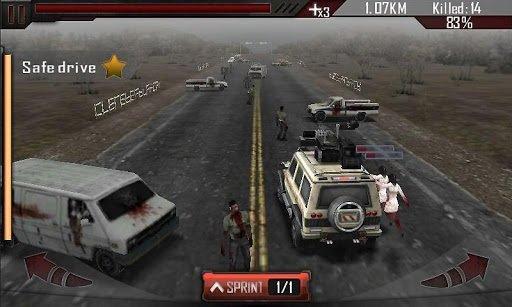 Zombie Roadkill 3D screenshot