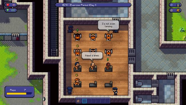 The Escapists: The Walking Dead screenshot