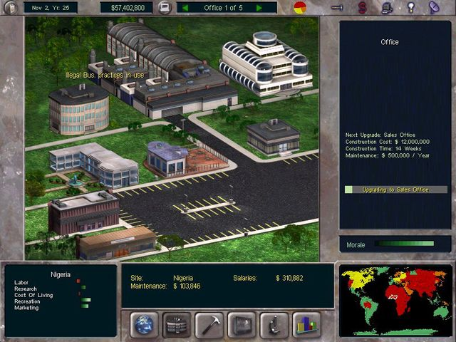 The Corporate Machine screenshot