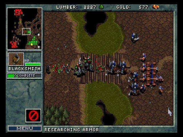 Warcraft: Orcs and Humans screenshot