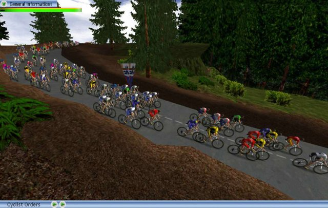 Cycling Manager 2 screenshot