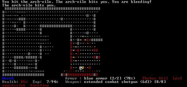 Doom, the Roguelike screenshot