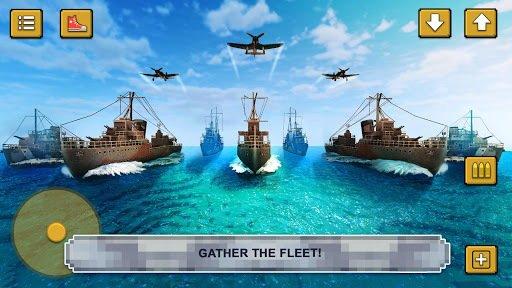 Warship Battle Craft: Naval War Game of Crafting screenshot