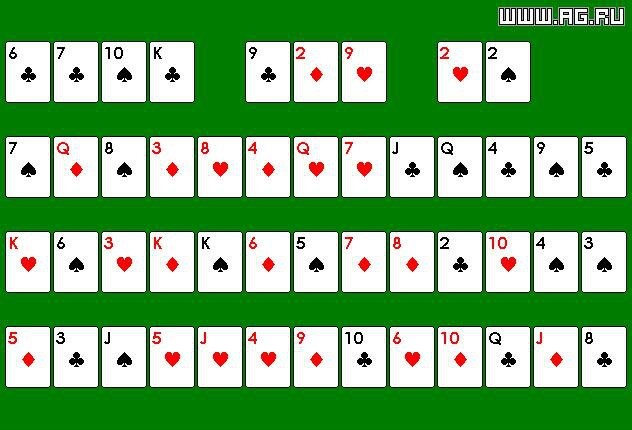 Montana Solitaire screenshot