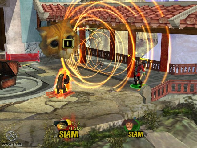 Shrek SuperSlam screenshot