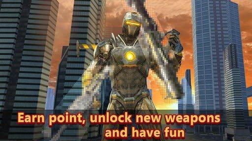 Super Ironhero Fidget Spinner City Rescue screenshot