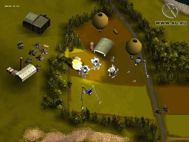 Jeff Wayne's The War of the Worlds screenshot